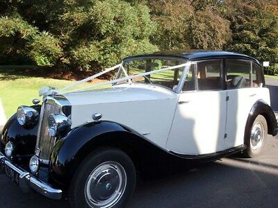 Triumph Renown Razoredge, Valuable number plate, Wedding car