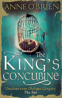 The King's Concubine, O'Brien, Anne, New Book