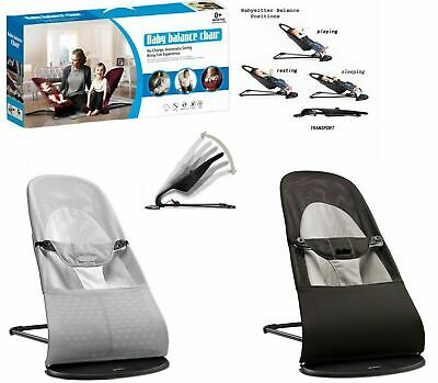 New Baby Newborn  Infant Bouncing Chair Rocking Seat Safety Bouncer Balance Soft