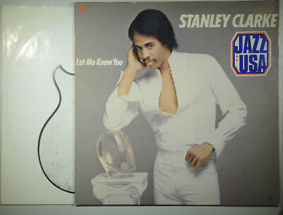 Stanley Clarke Let me know you (Epic 85846)