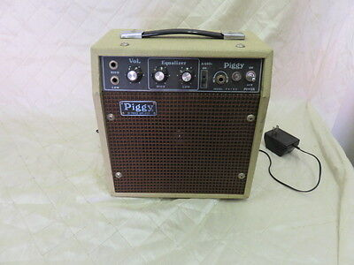 Piggy by Prince Portable Amplifier Vintage Audio Music Equipment WORKS!!