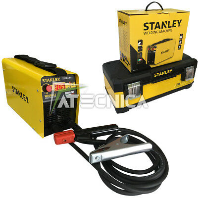 inverter welder STANLEY 200A WD200IC2 with suitcase professional and accessories