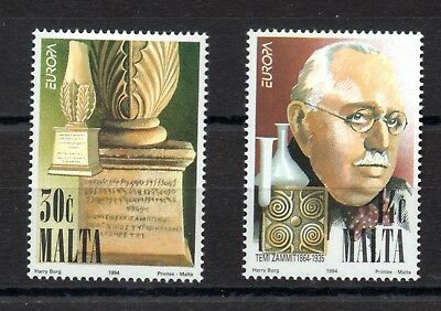 Malta (2337)  1994 Europa, Discoveries set unmounted mint Sg 958-9