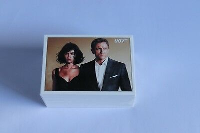 James Bond ARCHIVES QUANTUM OF SOLACE FULL BASE SET OF TRADING CARDS 2015