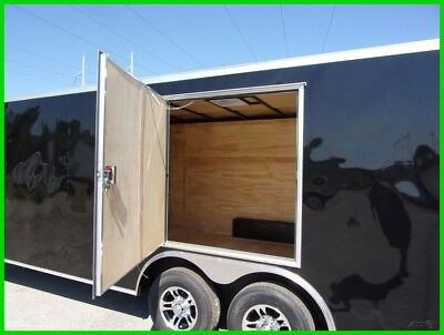 26ft car hauler motorcycle package enclosed Cargo trailer 8.5x24 + v nose New