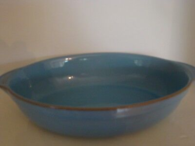 Denby Oval Oven Roasting Serving Dish Colonial Blue