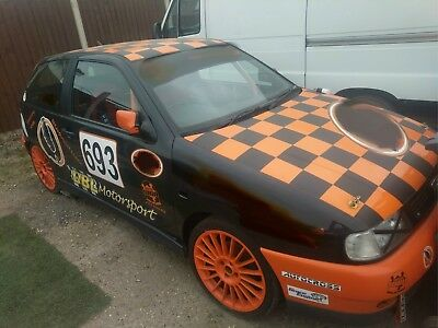 Trackday/rally/rallycross unfnished project 97 Ibiza GTi Rollcage COBRA TRS MOMO