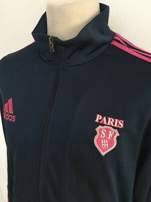 PARIS SF Rugby Track Top Jacket ADIDAS Size LARGE