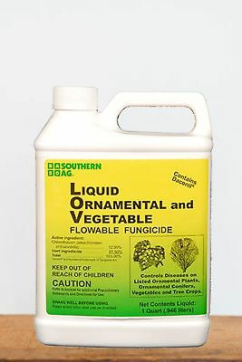 Southern Ag Liquid Ornamental, Tree & Vegetable Fungicide , 16 OZ