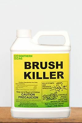 Southern Ag Brush Killer 8.8% Triclopyr  (hard-to-control plants), 1 Quart