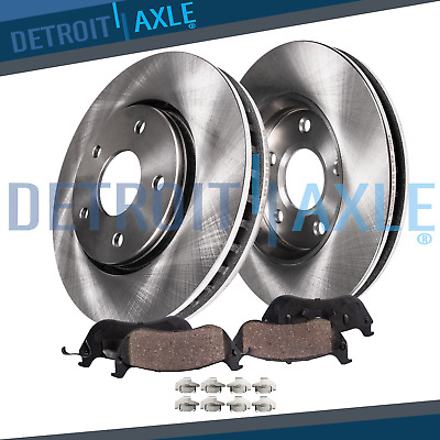 2008 - 2014 Cadillac CTS Standard Brakes Front Disc Rotors & Ceramic Pads