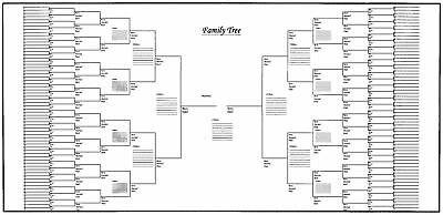 5 pack of large family tree charts 60 x 24 33 75 picclick