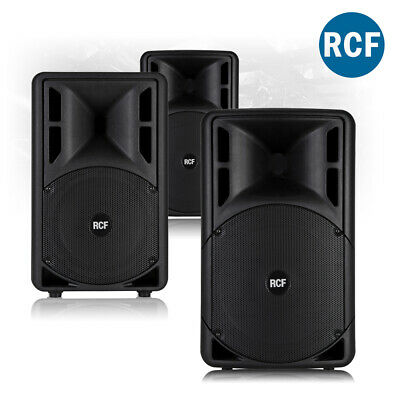 "CHOICE RCF ART 3-A MK4 Active Bi-Amplified Mobile DJ PA Speaker 10"" 12"" 15"" 800W"