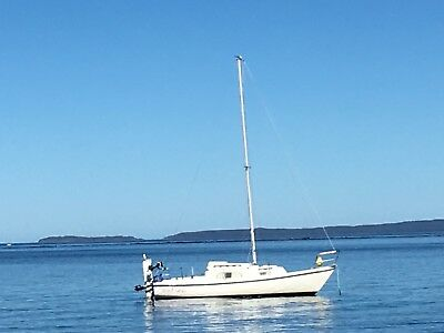 Yacht Compass Careel 22ft plus Mooring Jervis Bay