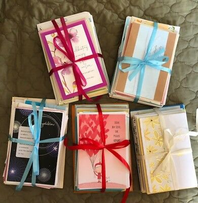 All American Greeting Cards, Lots of 15 Cards.  Ribbon wrapped
