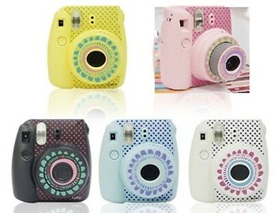 2pcs Camera Body Decoration Stickers For Fujifilm Polaroid Instax Mini8 Sun Dot