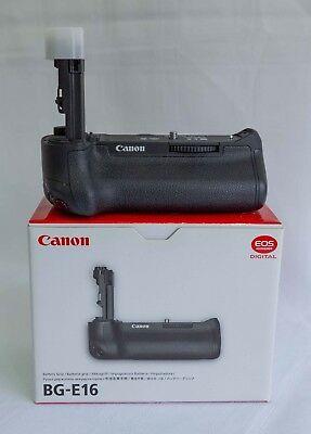 Canon BG-E16 Battery Grip for EOS 7D Mark II, in excellent condition.