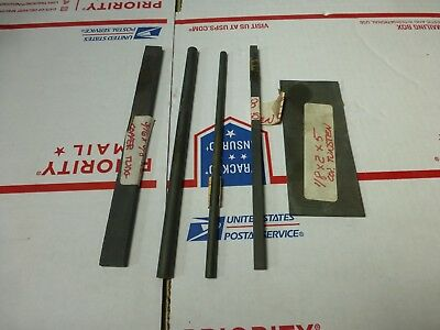 5 Pieces of Copper Tungsten Stock Rods Bars 36 Ounces