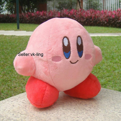 """Kirby 5.5"""" Plush Toy Little Buddy Kirby Adventure All Star Collection Cute Doll"""