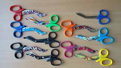Patterned Blade Tough Cut Scissors / Shears for Nurses, Paramedics CE Surgimax®