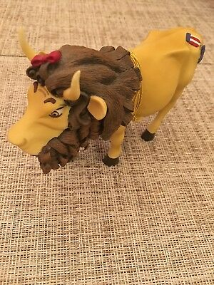 Cow Parade Wizard Of Oz- Cowardly Lion 7244- With Tags