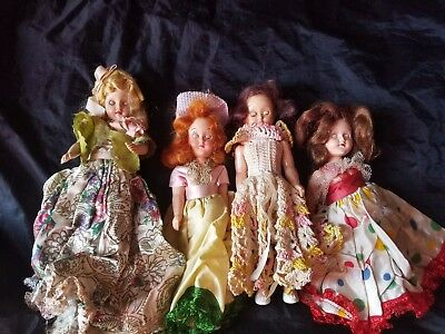 Vintage doll lot Set of 4