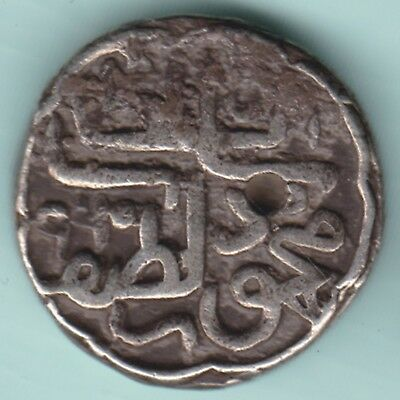 Gujarat Sultan - Mehmood Shah - Tanka - Extremely Rare Silver Coin