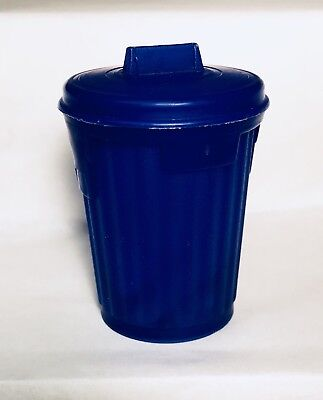 Vintage 1979 Topps Blue GARBAGE CANDY Trash Can Container fleer SERIES 2 gum