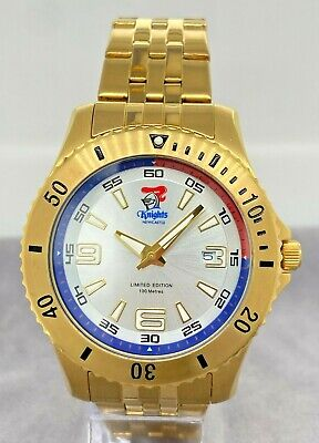 NRL Watch Knights 100m WR Limited Edition Supporters Watch Date RRP $249