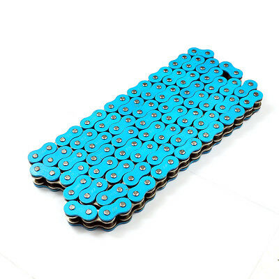 520 Pitch 120-Link Blue X-ring Motorcycle Dirt Bike ATV Drive Chain