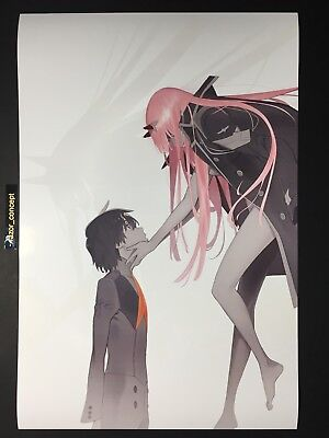"Darling in the Franxx Zero Two Poster 12""x18"" Arch B Size FAST USA SHIPPING"
