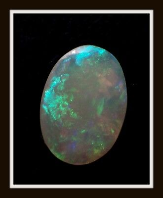 1.0ct  Solid GREAT COLOUR Mintabie Opal