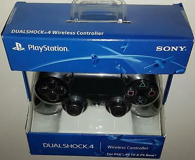 Sony Playstation 4 Ps4 Dualshock 4 Wireless Controller Brand New Jet Black