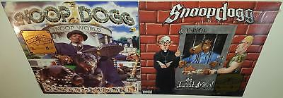 Snoop Dogg Da Game Is To Be Sold + The Last Meal Brand New Sealed Vinyl Lp Lot