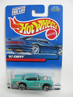 Hot Wheels 2000 - '57 Chevy Blue Card Collector