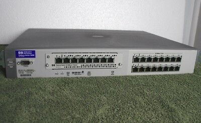HP Procurve Switch 1600M Networking, Home automation