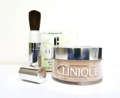 Clinique Blended Face Powder & Brush - Boxed - Choose Shade - Free Postage