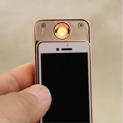 NOVELTY New Cigarette Lighter iphone4 USB Charge Windproof lighter free postage