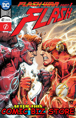 Flash #47 (2018) 1St Printing Dc Universe Rebirth Bagged & Boarded