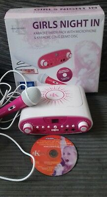 Easy Karaoke EKG88P Girls Night In Karaoke Party Machine Pink