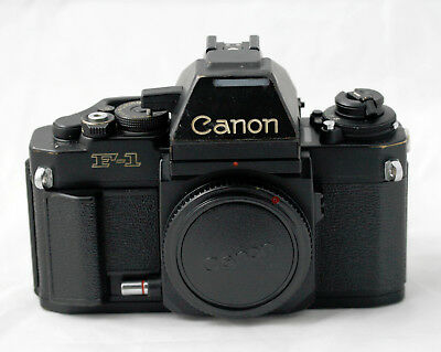 Canon F-1 (New) 35mm SLR Film Camera Body Only