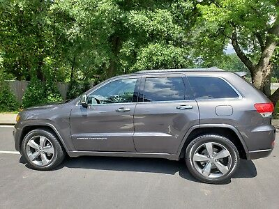 2015 Jeep Grand Cherokee 4X2 Perfect 2015 Jeep Grand Cherokee Overland