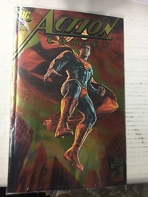 ACTION COMICS #1000, Lee Bermejo Rare GOLD FOIL Variant