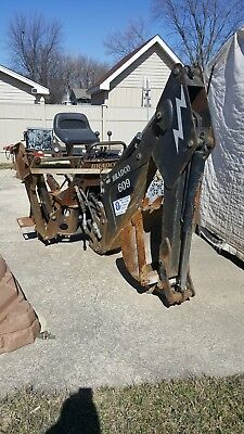 Bradco 609 skid steer attachment excavator backhoe new holland bobcat case