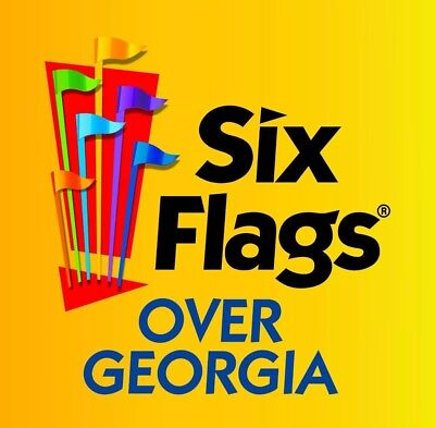 Six Flags Over Georgia Ticket Link To Purchase $28 Tickets $12 Refillable Bottle