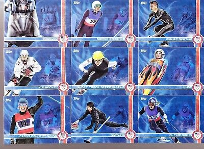 2014 Topps US Olympic and Paralympic Team Games Of The XXII Winter Insert PICK