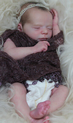 "ReaLBorN ~ SLeePing BaBy MaDiSoN ~ 19""  DoLL KiT ~ REBORN DOLL SUPPLIES"