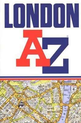A to Z Street Atlas of London by Geographers' A-Z Map Co... | Book | second hand