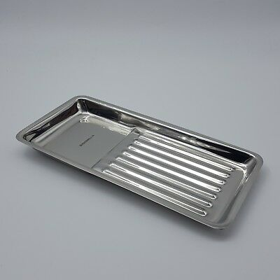 Plateaux Inox Rectangulaire Small - Rockwell - CE / ISO certifié