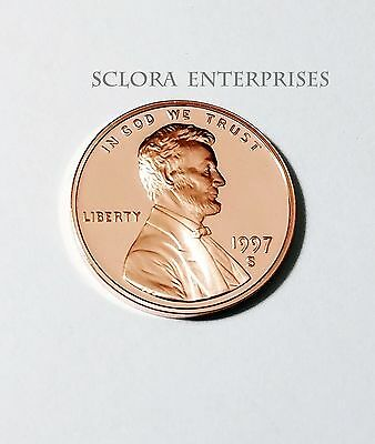 1997 S Lincoln Memorial *proof* Cent / Penny  **free Shipping**